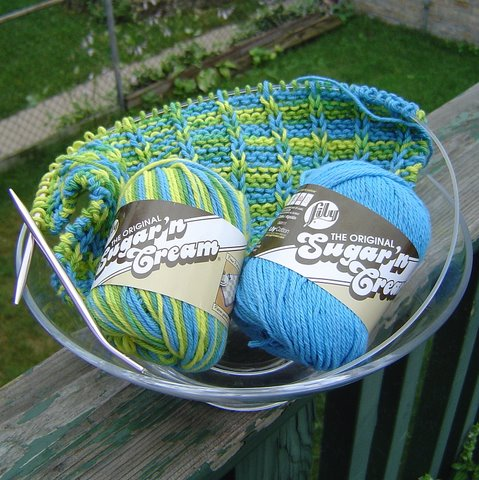 Diving into Dishcloth Cotton