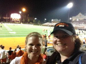August - Rebecca & I go back to Mercer to see a thrilling win as Mercer returns to football for the 1st time since 1941.