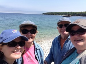 June - Artisan Family Great Lakes Getaway. We enjoyed a week around Lake Michigan - first at Mackinac Island and then in Door County, WI