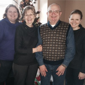 December - A quick trip home to the 'Ville to enjoy a Family Christma