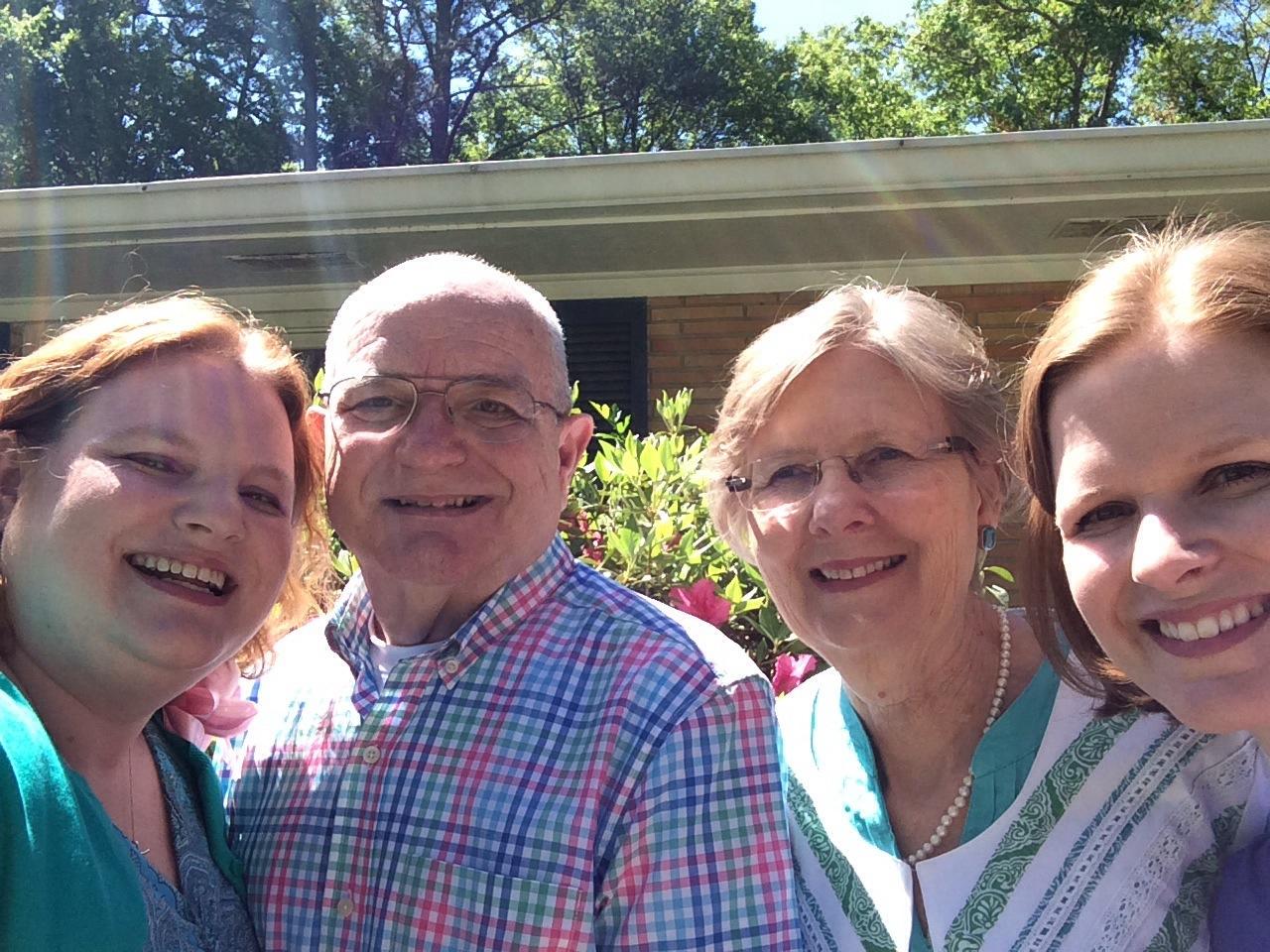 Easter Sunday Family Selfie