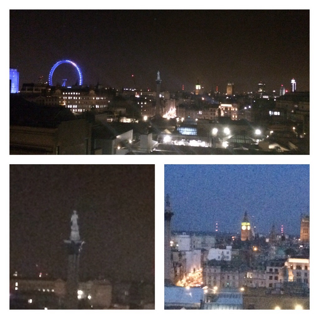 My postcard view - the nighttime edition