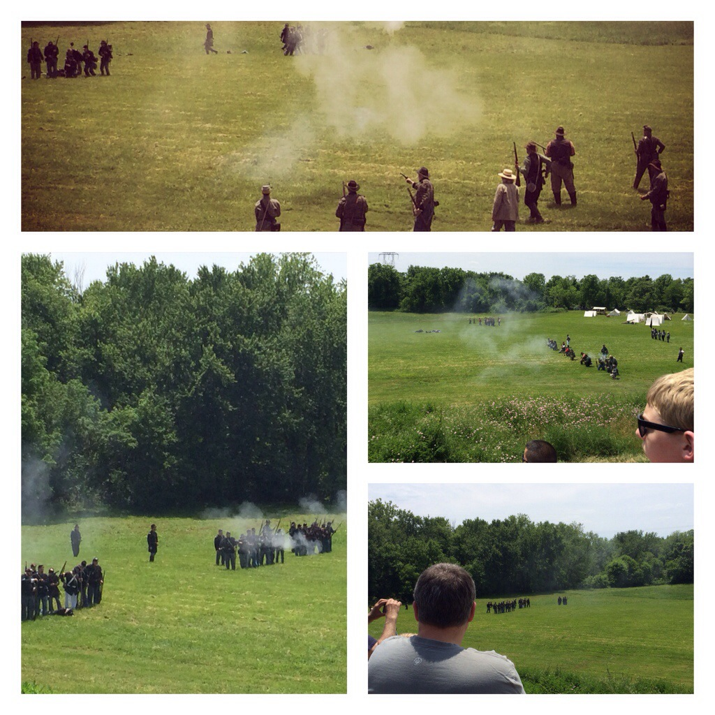 Civil War on a Sunday afternoon