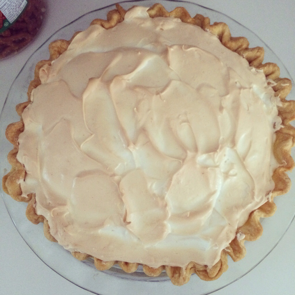 Mom's Lemon Meringue Pie - a new Thanksgiving dessert tradition?