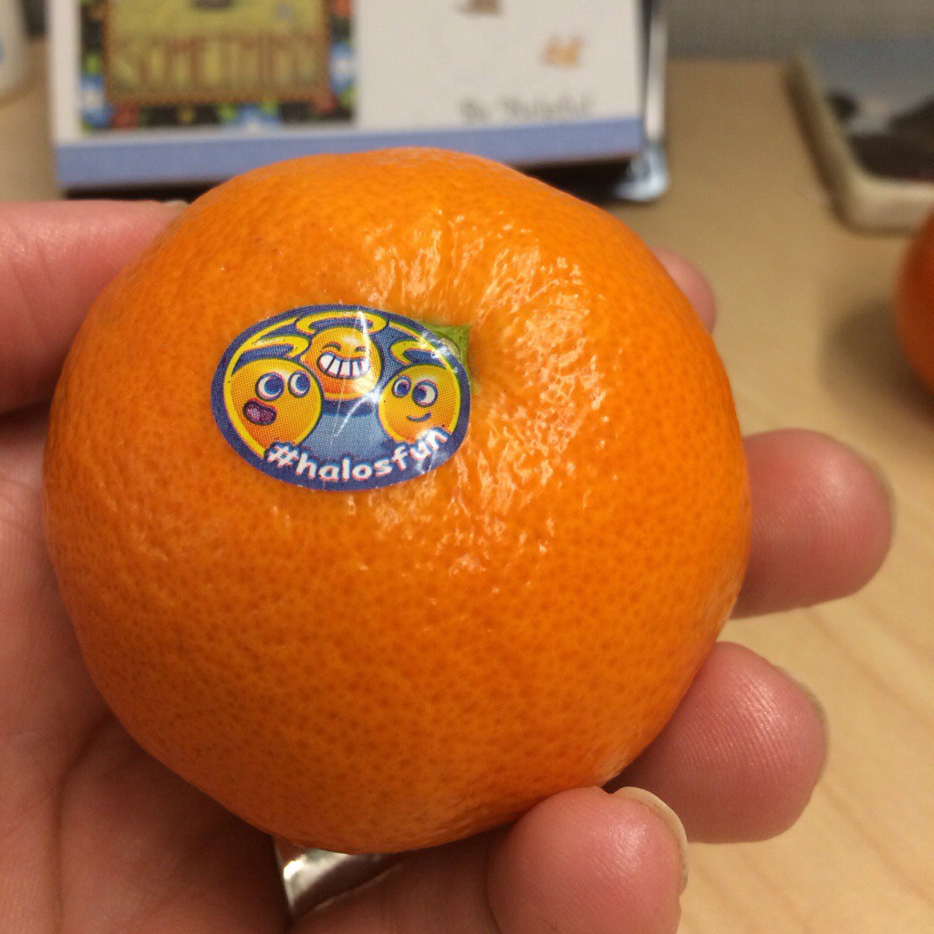 Oh my darling...finally finding great clementines for cheerful snacking
