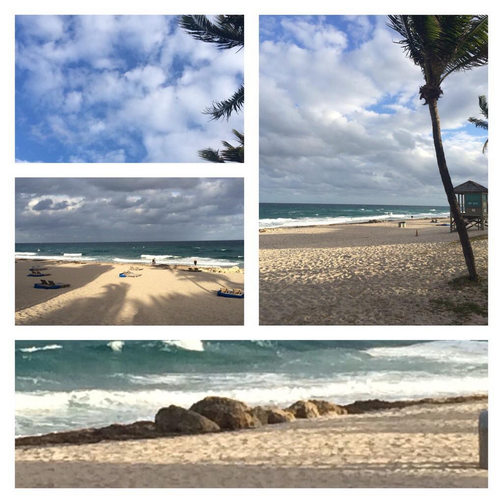 A Sunday stroll along the beach