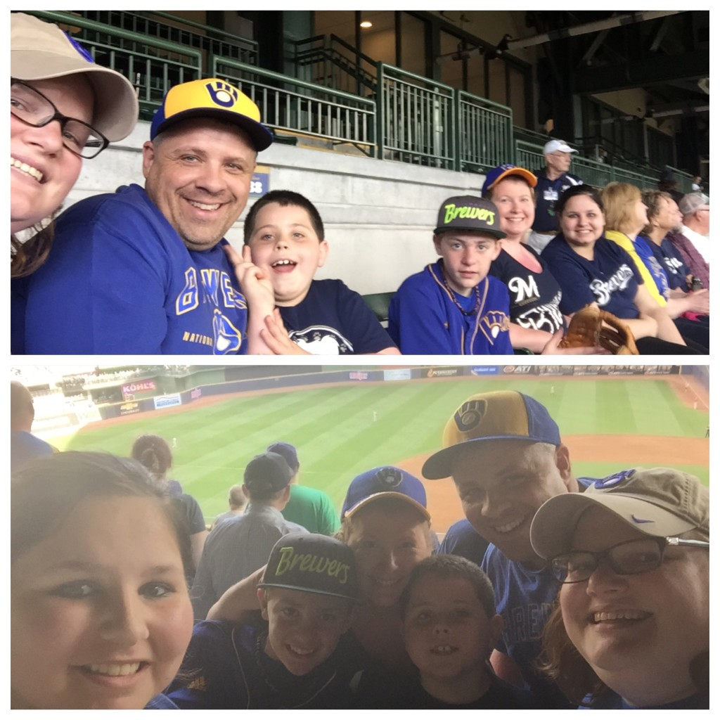 Our 6th baseball game in 3 years!