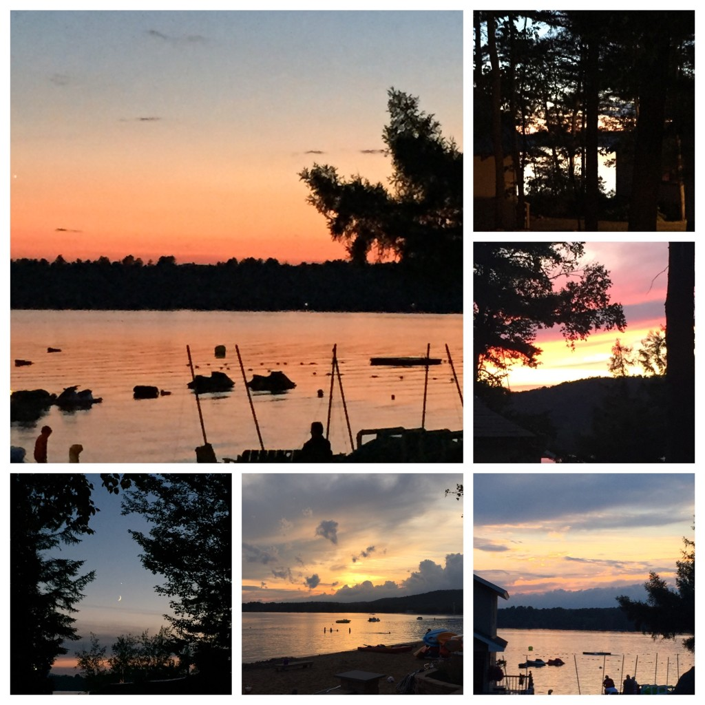 A few of the amazing sunset views from the week...