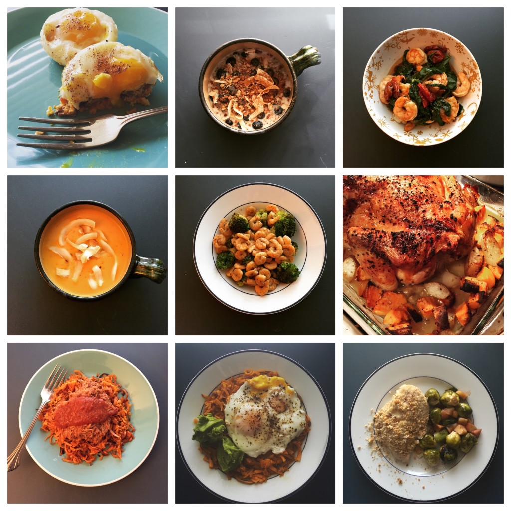 A few of my Whole30 kitchen adventures...