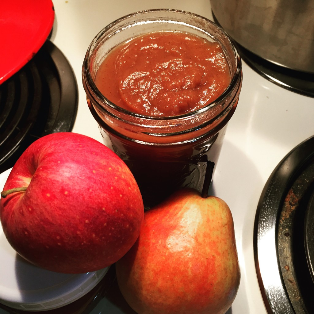 Spiced Pear & Apple Butter has brought autumn joy to many meals