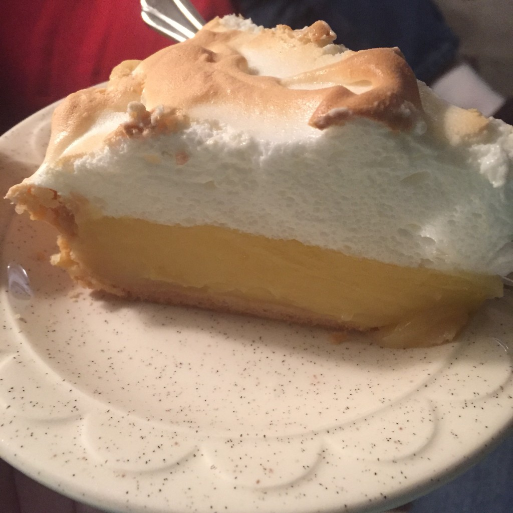 Mom's Lemon Meringue Pie is becoming a Thanksgiving tradition...