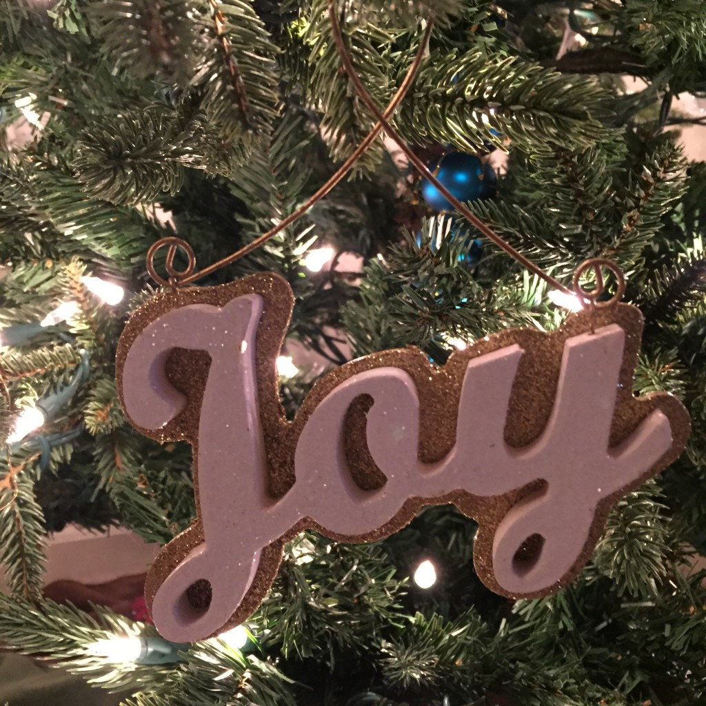 A joyful addition to the tree this year...