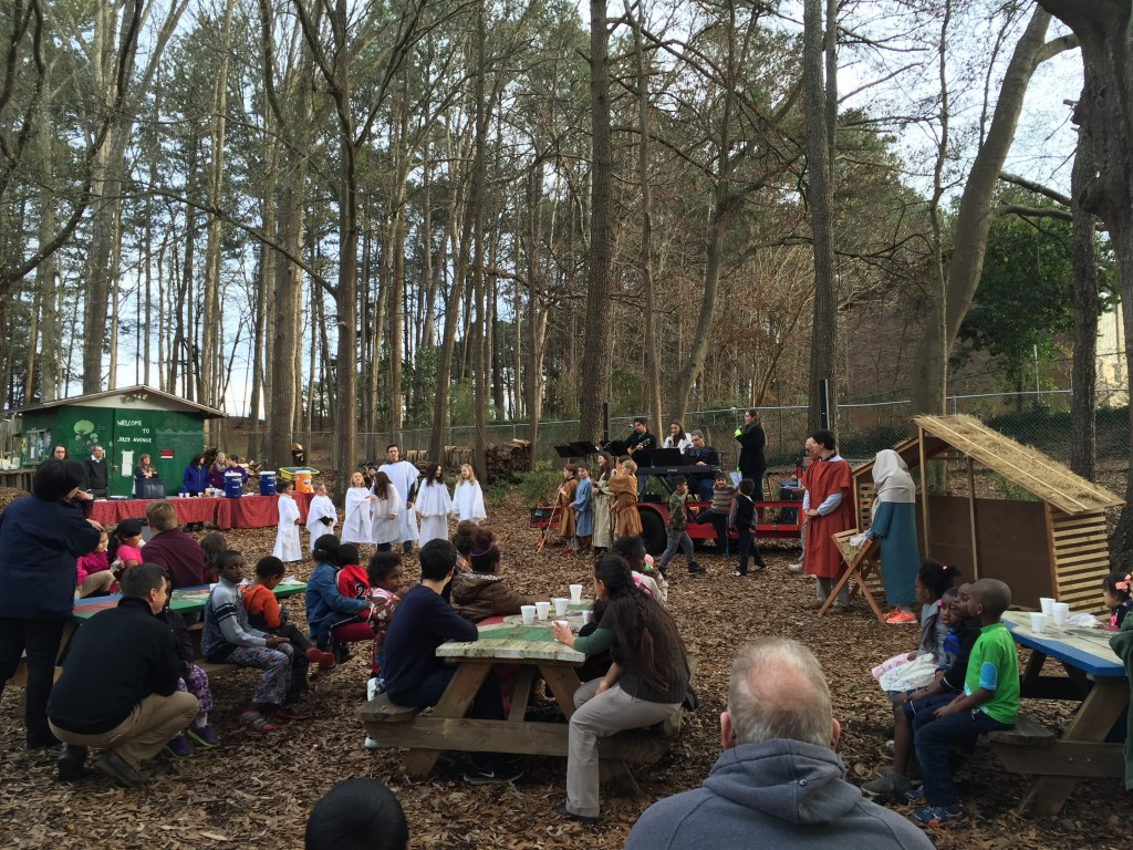 Sharing the Christmas Story in Clarkston