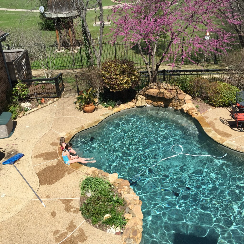 Giving the pool a try