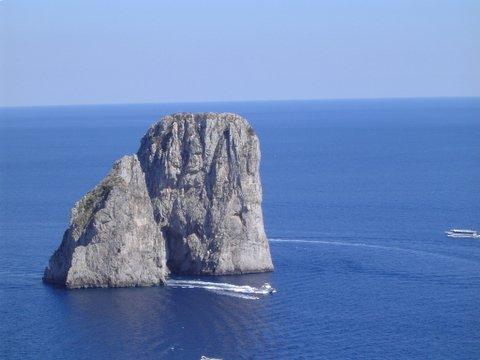 Off the coast of Capri - June 2005